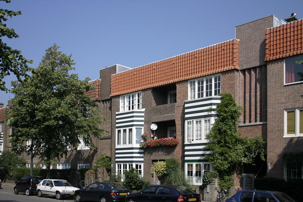 vruchtenbuurt architectuurwandeling Nieuwe Haagse School