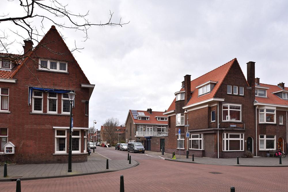 hoekwoningen Nieuwe Haagse School architectuur