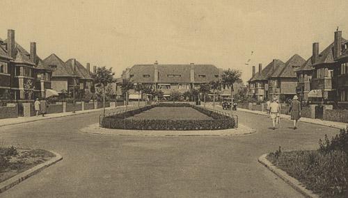 historische foto villa's nieuwe haagse school
