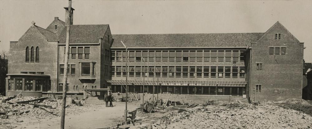 historische foto Edith Stein college