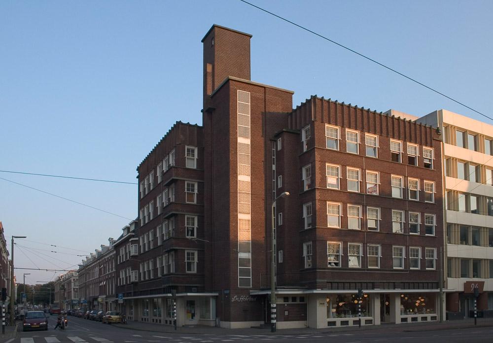 Woonhotels zijn kenmerkend voor de Nieuwe Haagse School
