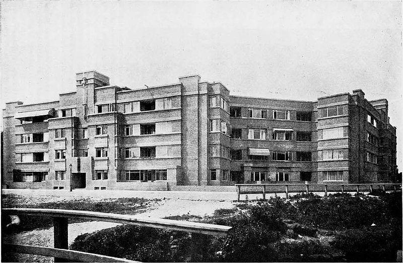 historische foto woonhotel huize boszicht