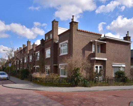 Nieuwe Haagse School architectuur in de bloemenbuurt