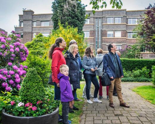 excursie woonhotel Nieuwe Haagse School architectuur
