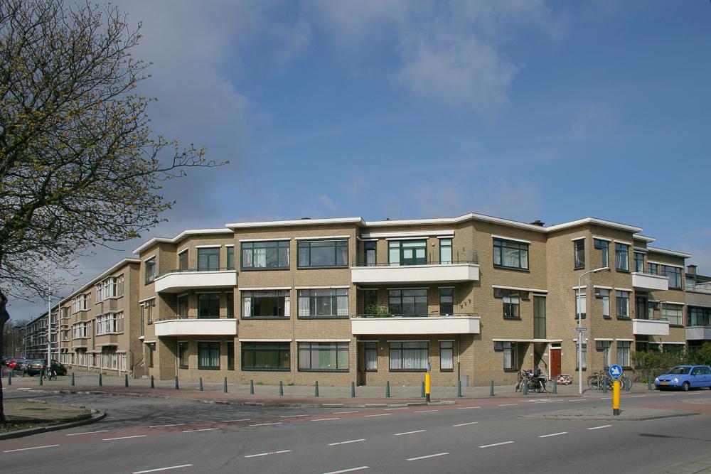 appartementen bezuidenhout oost nieuwe haagse school architectuur