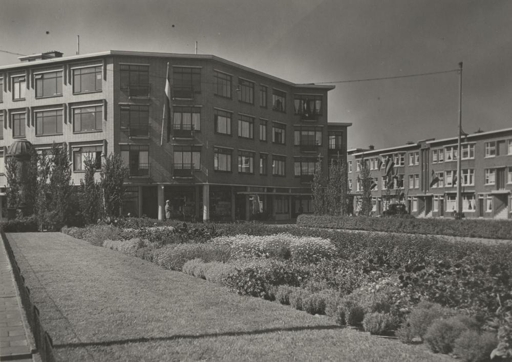historische foto Bezuidenhout-oost