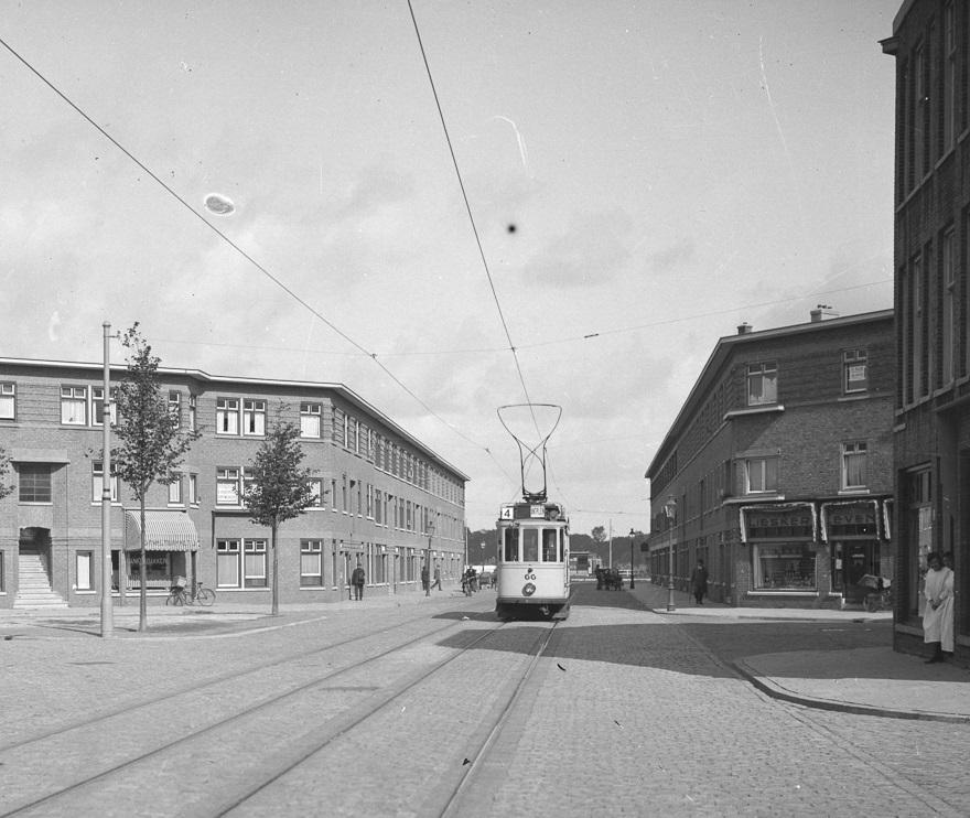 oude tram in bezuidenhout oost