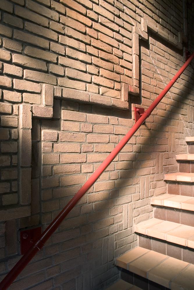trap detail nieuwe haagse school