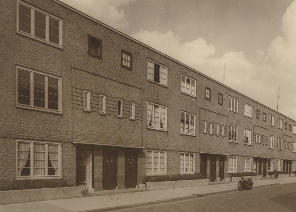 woonblok heesterbuurt nieuwe haagse school architectuur