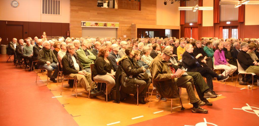 publiek bij symposium verduurzaming Nieuwe Haagse School